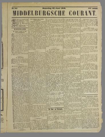 Middelburgsche Courant 1919-06-30