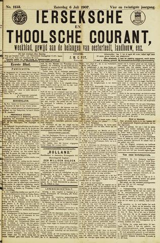 Ierseksche en Thoolsche Courant 1907-07-06