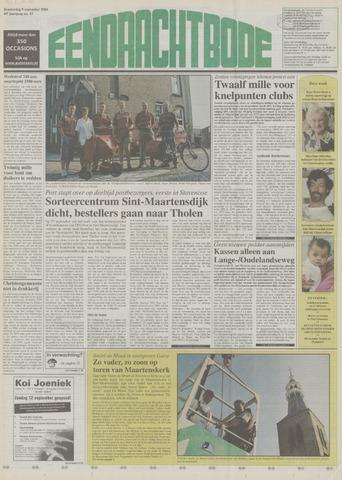 Eendrachtbode (1945-heden)/Mededeelingenblad voor het eiland Tholen (1944/45) 2004-09-09
