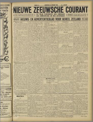 Nieuwe Zeeuwsche Courant 1925-10-22