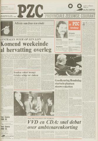 Provinciale Zeeuwse Courant 1983-11-23