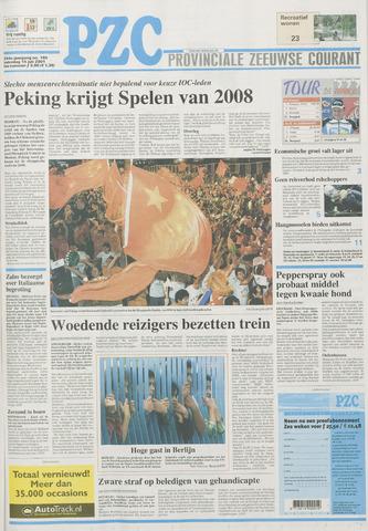 Provinciale Zeeuwse Courant 2001-07-14
