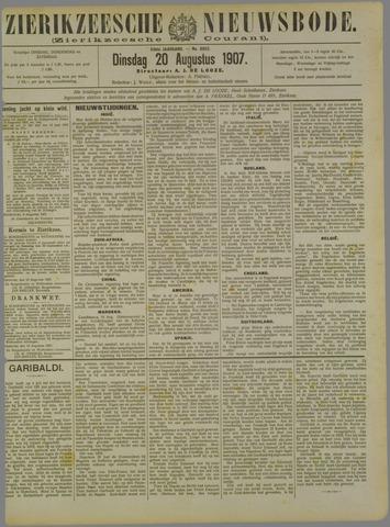 Zierikzeesche Nieuwsbode 1907-08-20