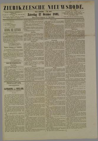 Zierikzeesche Nieuwsbode 1891-10-17