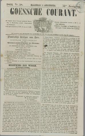 Goessche Courant 1864-08-01