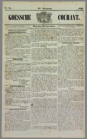 Goessche Courant 1861-09-30