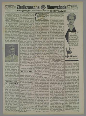 Zierikzeesche Nieuwsbode 1934-08-27