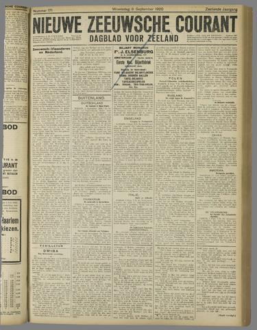 Nieuwe Zeeuwsche Courant 1920-09-08