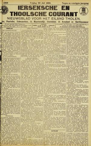 Ierseksche en Thoolsche Courant 1932-07-22