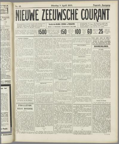 Nieuwe Zeeuwsche Courant 1913-04-08