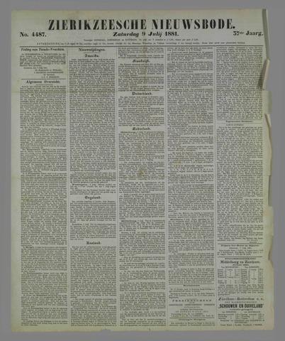 Zierikzeesche Nieuwsbode 1881-07-09