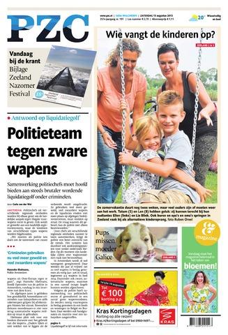 Provinciale Zeeuwse Courant 2015-08-15