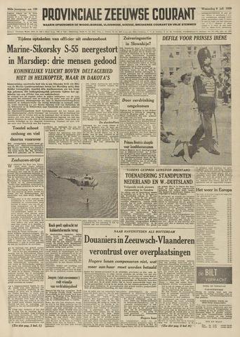 Provinciale Zeeuwse Courant 1959-07-08