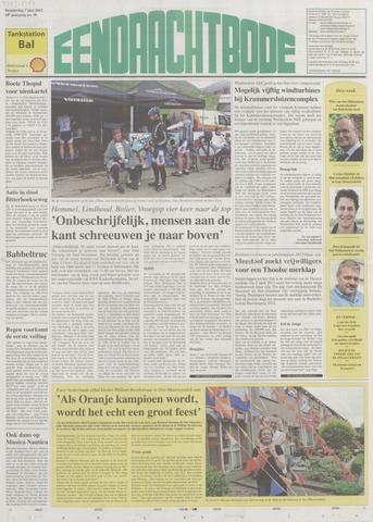 Eendrachtbode (1945-heden)/Mededeelingenblad voor het eiland Tholen (1944/45) 2012-06-07