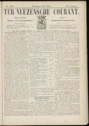 Ter Neuzensche Courant. Algemeen Nieuws- en Advertentieblad voor Zeeuwsch-Vlaanderen / Neuzensche Courant ... (idem) / (Algemeen) nieuws en advertentieblad voor Zeeuwsch-Vlaanderen 1878-05-08