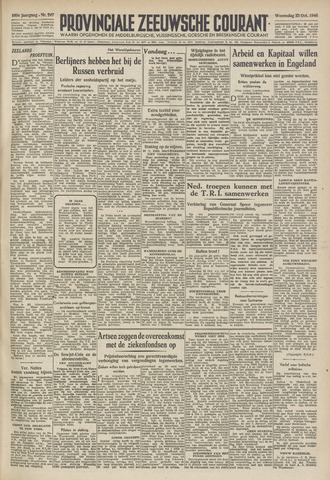 Provinciale Zeeuwse Courant 1946-10-23