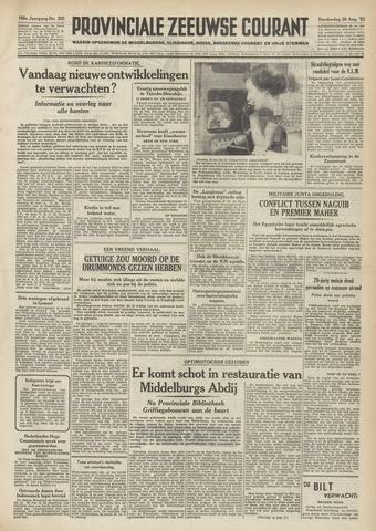 Provinciale Zeeuwse Courant 1952-08-28