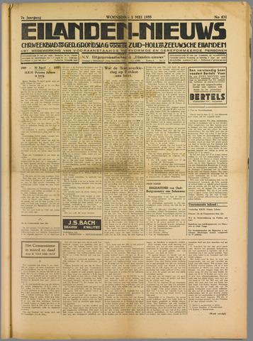 Eilanden-nieuws. Christelijk streekblad op gereformeerde grondslag 1935-05-01