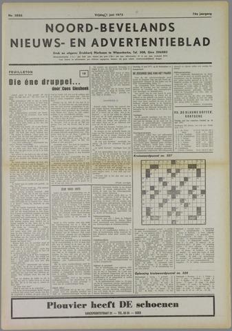 Noord-Bevelands Nieuws- en advertentieblad 1973-06-01