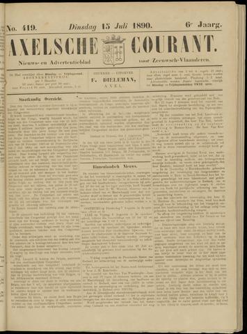 Axelsche Courant 1890-07-15
