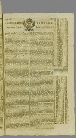 Middelburgsche Courant 1806-09-09