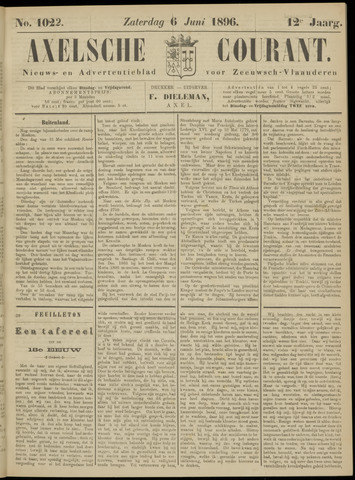 Axelsche Courant 1896-06-06