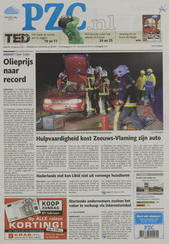 Provinciale Zeeuwse Courant 2011-02-25