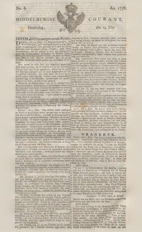 Middelburgsche Courant 1758-07-13