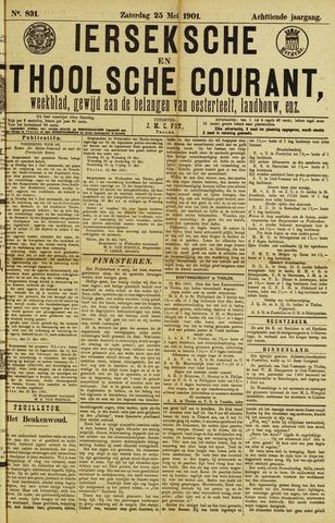 Ierseksche en Thoolsche Courant 1901-05-25
