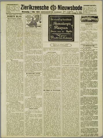 Zierikzeesche Nieuwsbode 1924-05-07