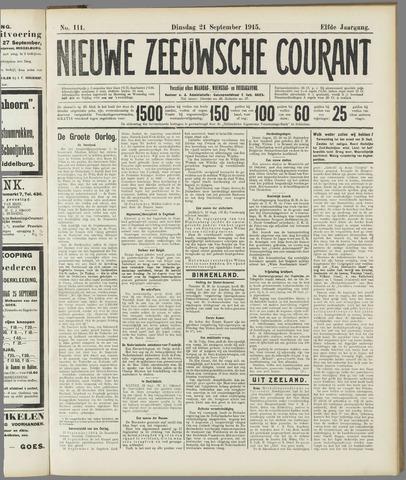Nieuwe Zeeuwsche Courant 1915-09-21