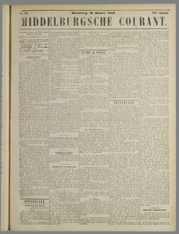 Middelburgsche Courant 1919-03-15