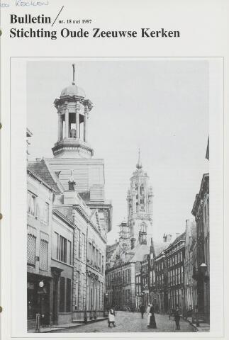 Bulletin Stichting Oude Zeeuwse kerken 1987
