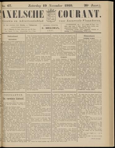 Axelsche Courant 1910-11-19