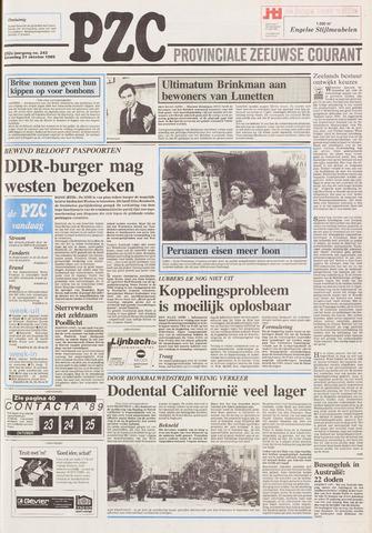 Provinciale Zeeuwse Courant 1989-10-21