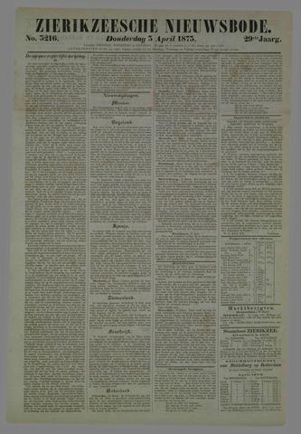 Zierikzeesche Nieuwsbode 1873-04-03