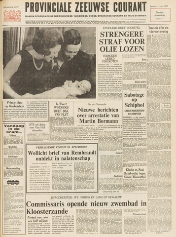 Provinciale Zeeuwse Courant 1967-05-13