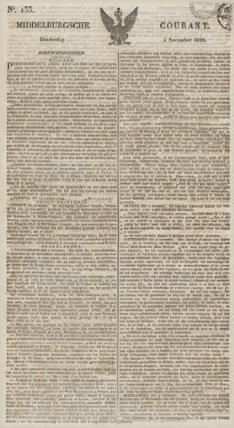 Middelburgsche Courant 1829-11-05