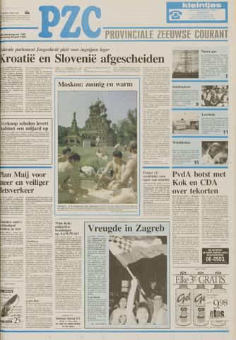 Provinciale Zeeuwse Courant 1991-06-26