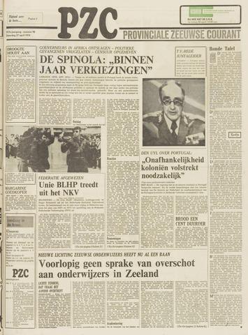 Provinciale Zeeuwse Courant 1974-04-27