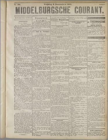 Middelburgsche Courant 1921-12-09