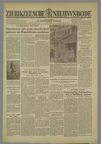 Zierikzeesche Nieuwsbode 1952-07-14