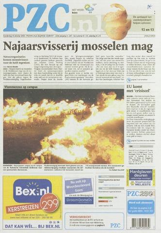 Provinciale Zeeuwse Courant 2008-10-16