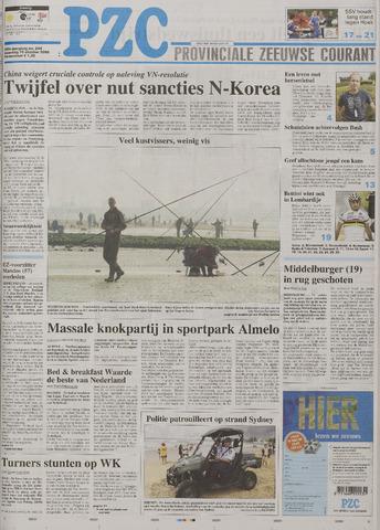 Provinciale Zeeuwse Courant 2006-10-16