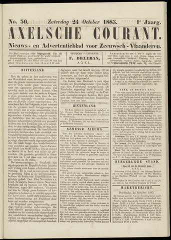 Axelsche Courant 1885-10-24