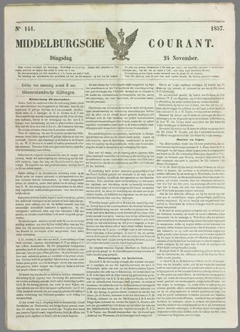 Middelburgsche Courant 1857-11-24