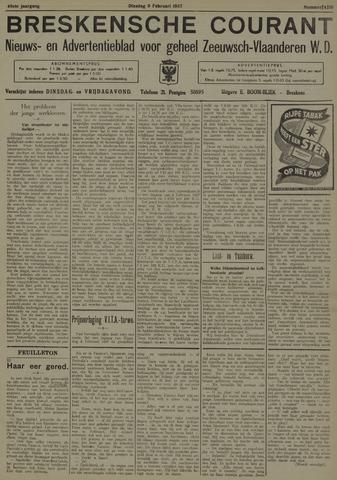 Breskensche Courant 1937-02-09