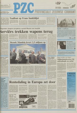 Provinciale Zeeuwse Courant 1994-02-18