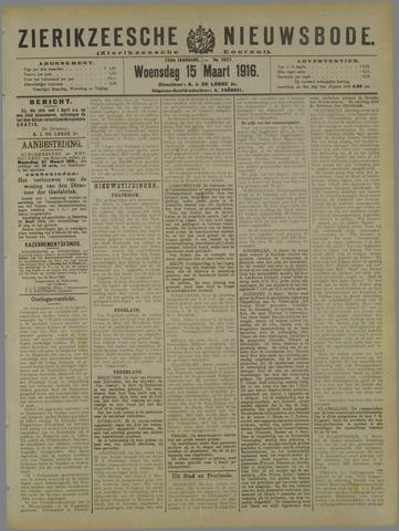 Zierikzeesche Nieuwsbode 1916-03-15
