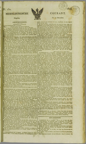 Middelburgsche Courant 1825-12-20